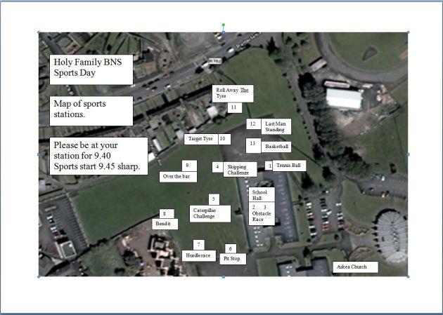 SportsDay Map